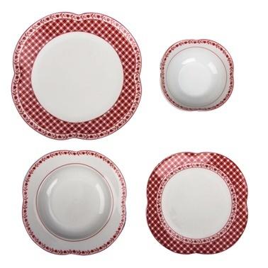 Aryıldız By Orient 24 Parça Yemek Takımı Rouge Renkli